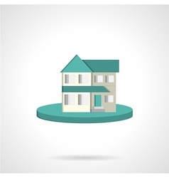 Housing flat style icon vector image
