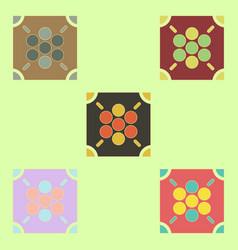 Ludo board game collection vector