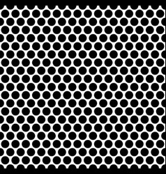 seamlessly repeatable pattern with dots circles vector image
