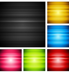 Abstract shiny design vector image