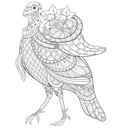 Coloring Page Turkey Vector Images Over 220