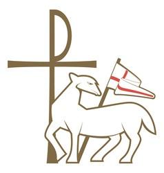 Christian religious symbol vector