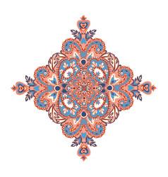 Floral oriental pattern wonderland flower ornament vector