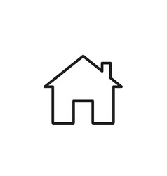 home online icon vector image
