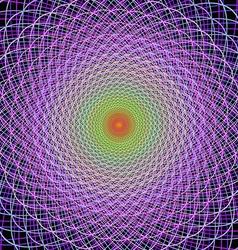 Simple fractal design background vector