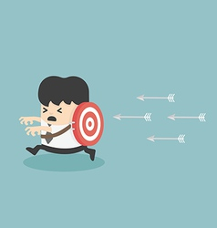 Target victim Business vector