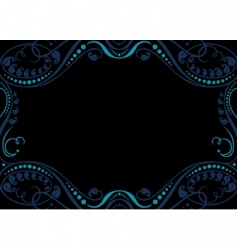 artistic frame vector image vector image