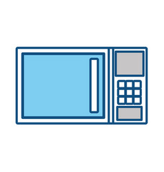 microwave oven icon image vector image vector image
