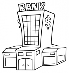 central bank vector image vector image