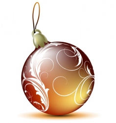 fir ball vector image vector image