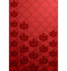 vertical red glamour pattern vector image vector image