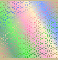 Abstract colorful background with hexagon vector