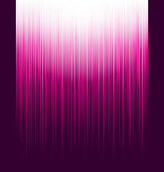 Background with pink glowing striped lines vector
