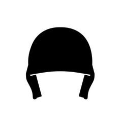 baseball hemlet icon vector image
