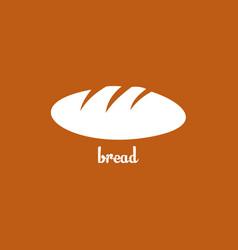 Bread template design vector
