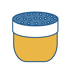 Condiments bottle icon vector