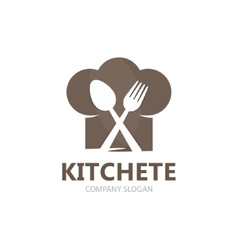 cooking logo template vector image