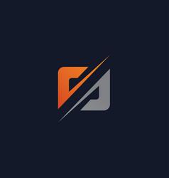 Creative letter s logo concept design templates vector