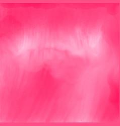 elegant pink watercolor texture background vector image
