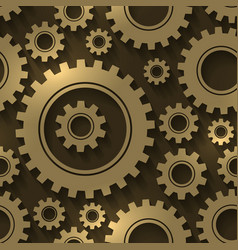 Gear design abstract background Gears and vector