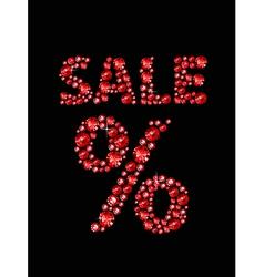 Gem Sale vector image