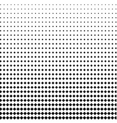 halftone dots background in the form of squares vector image