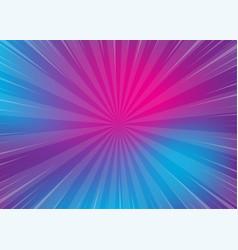 neon pop art comics gradient radial background vector image