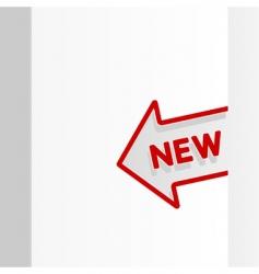 sale arrow tag vector image