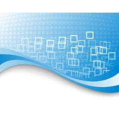 blue colored business background vector image vector image