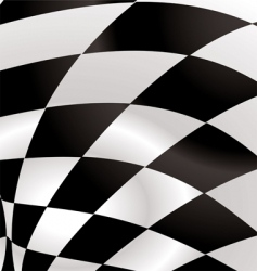 checkered square vector image vector image
