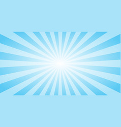 abstract blue sun rays background summer sunny 4k vector image