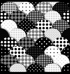 rhombuses patchwork pattern vector image