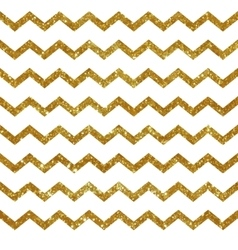 Seamless pattern with golden stripes vector image vector image