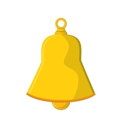 Isolated bell of Christmas season design vector image vector image
