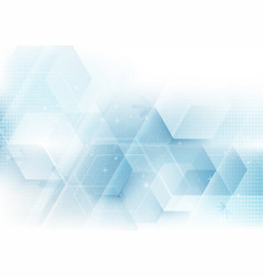abstract geometric shape technology background vector image vector image