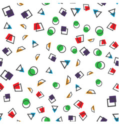 colorful abstract seamless pattern simple style vector image vector image