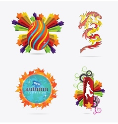 concepts creative sign and emblems vector image