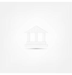 pillar icon vector image