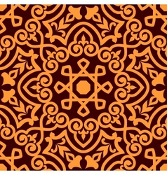 Bold intricate arabic seamless pattern vector image vector image