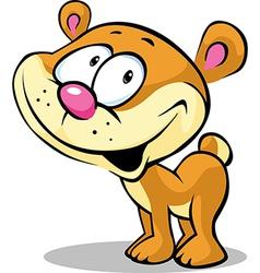 funny cute bear vector image