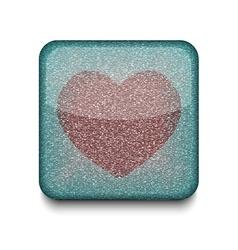 Favorites heart icon vector