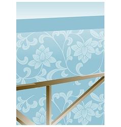Flora Wallpaper vector image