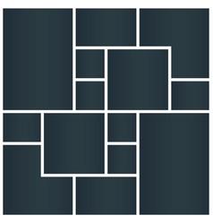 Photo collage presentations photo montage vector