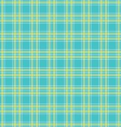 Seamless Green tartan pattern vector image