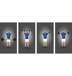 Training group background vector