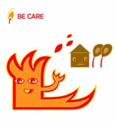 Warning illustration vector