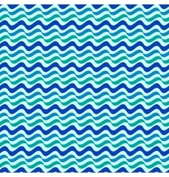 Wavy line color seamless pattern vector