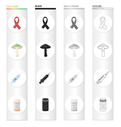 Aids tape a hallucinogenic fungus a syringe with vector