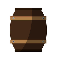 Barrel beverage dispenser vector
