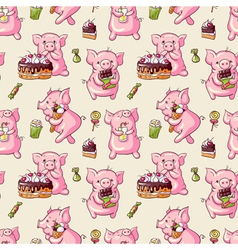 Cartoon pigs vector